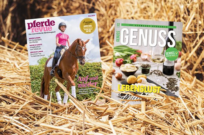 Kombiabo Pferderevue + Genuss Magazin
