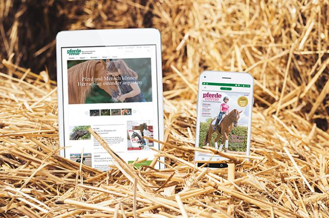 Pferderevue Jahresabo Digital